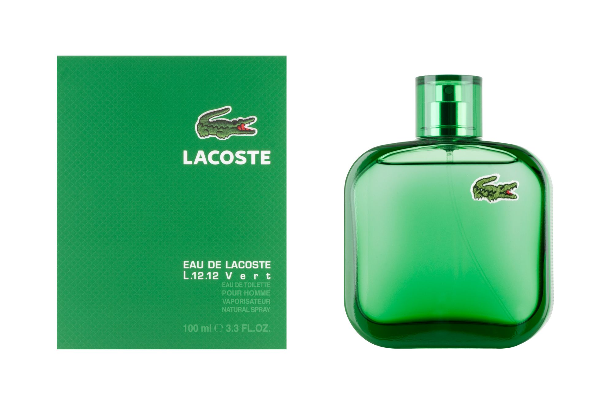 promotion parfum eau de lacoste vert de lacoste eau de toilette 100ml chez mon parfum. Black Bedroom Furniture Sets. Home Design Ideas