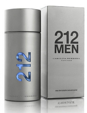 Parfum 212 men de  eau de toilette 100ml